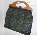 Vintage-style knitting bag