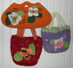 Felted knit bags photo